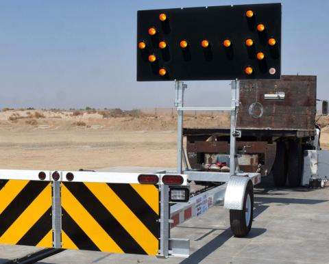 Gregory TTMA-200 Trailer Passes MASH TL-3 Crash Testing